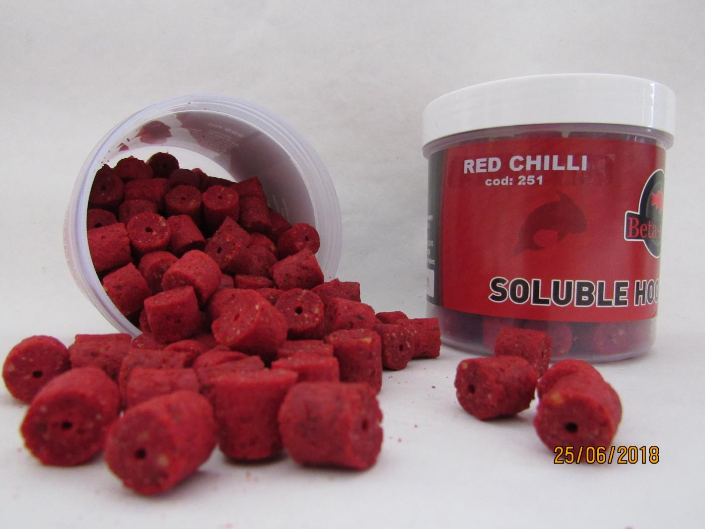 BETA MIX Chytacie pelety 12mm, 300 ml - Red Chilli
