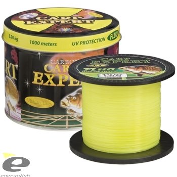 CARP EXPERT UV FLUO Yellow 1000m - 0.25mm, 8.90kg