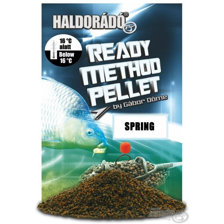 HALDORADO Ready Method Pellet - Spring