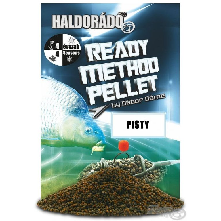 HALDORADO Ready Method Pellet - Pisty