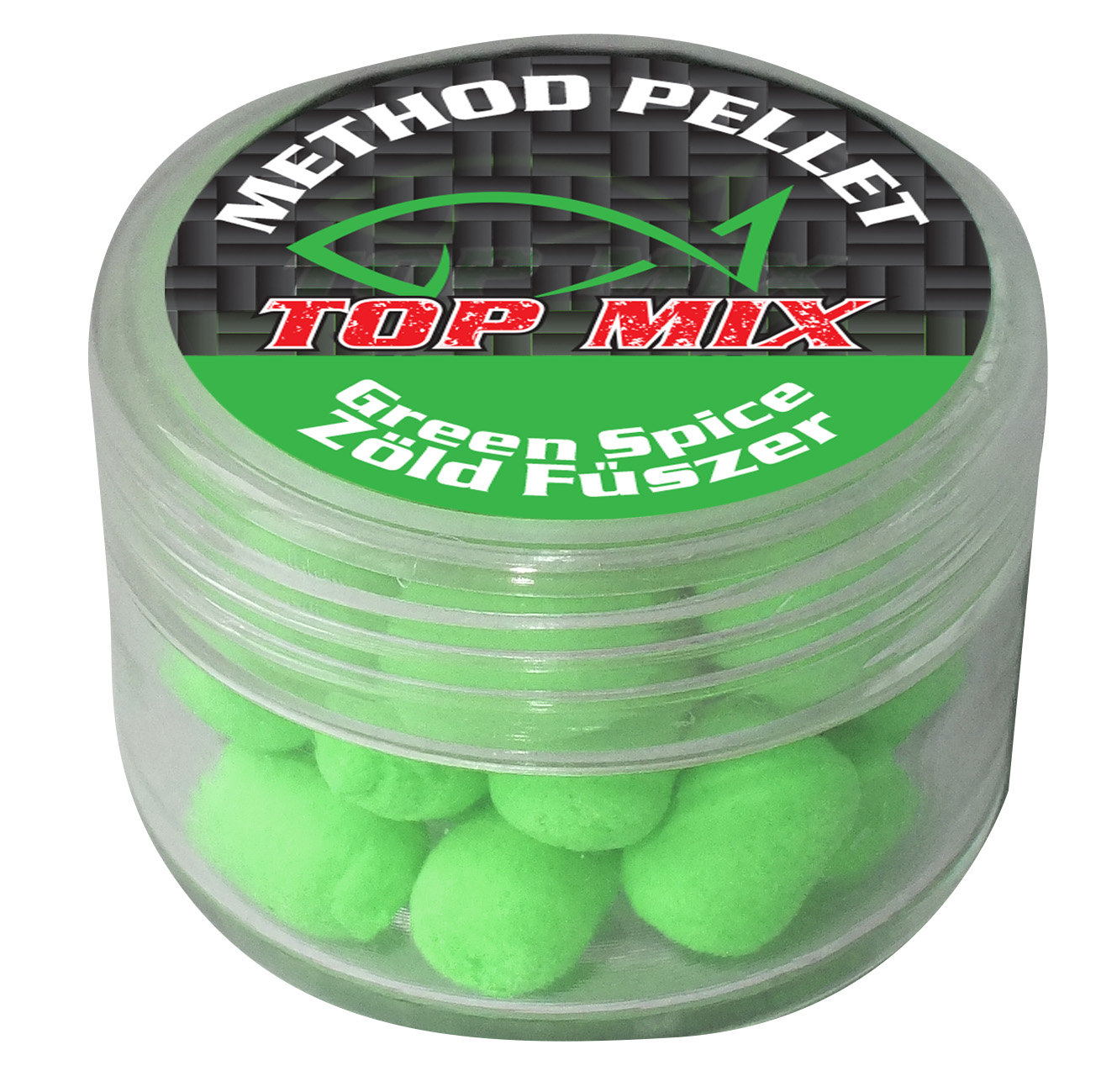 TOP MIX Method Pellet Pop Up 8mm - GREEN SPICY