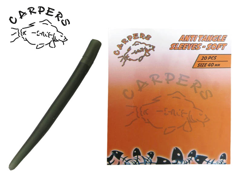 CARPERS Anti Tangle Sleeves Software - 40mm, 20ks