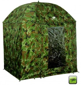 GIANTS FISHING Dáždnik - Full Cover Square Camo Umbrella - 2.5m