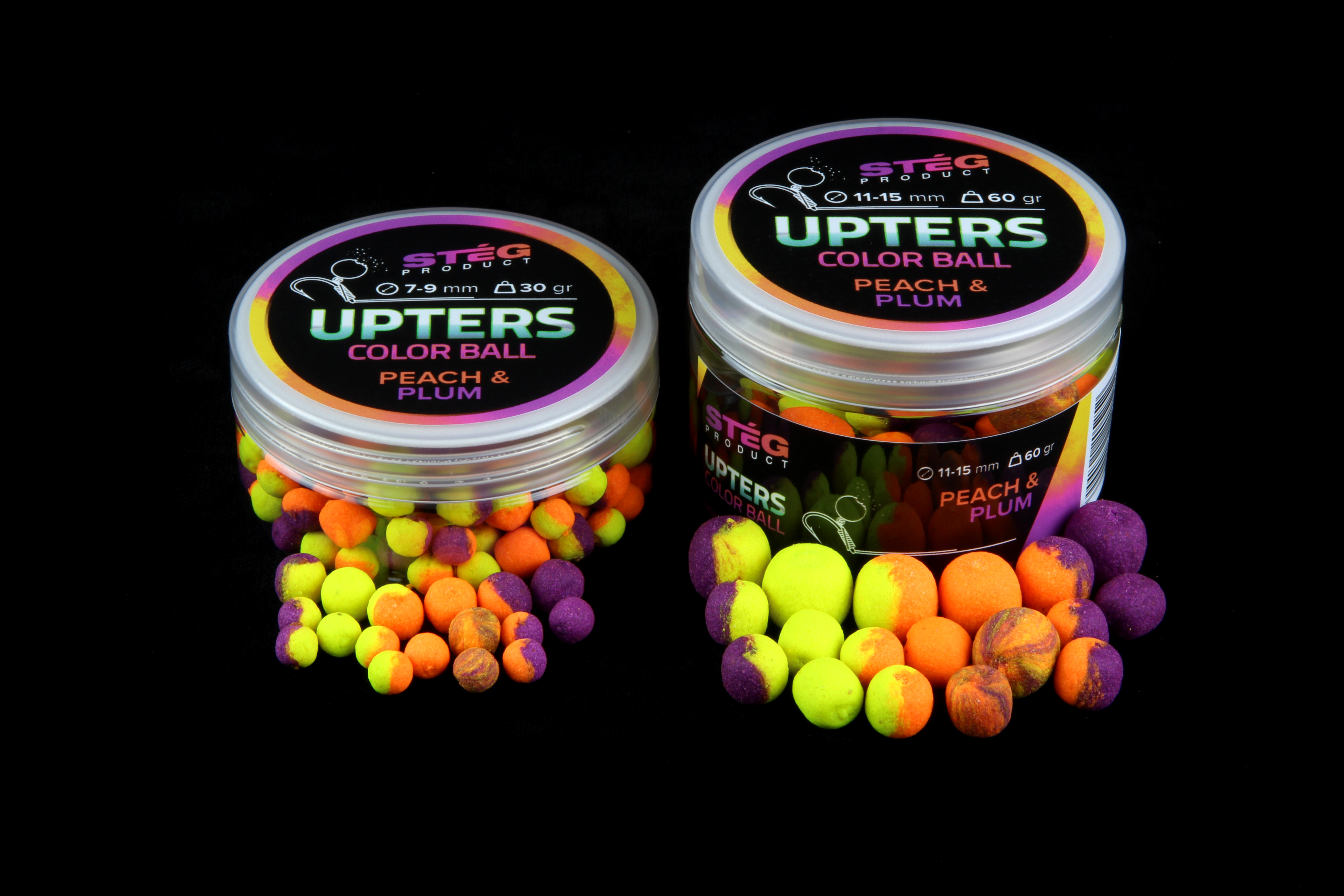 STÉG Upters Color Ball 11-15mm, 30g - PEACH PLUM