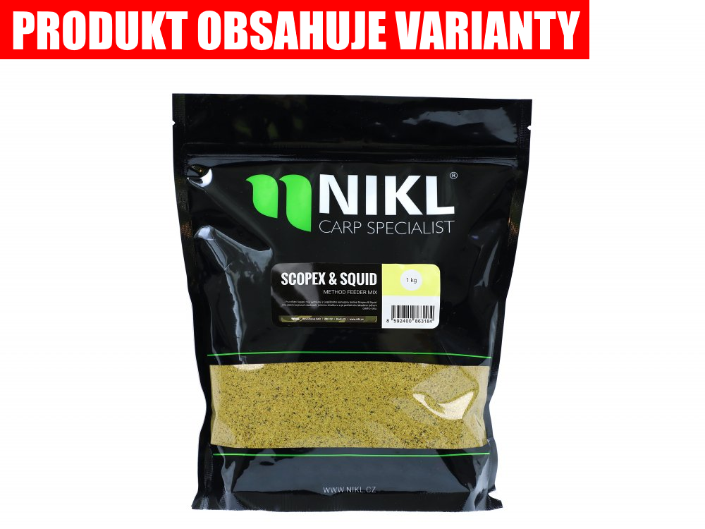 NIKL Method feeder mix - Scopex-Squid