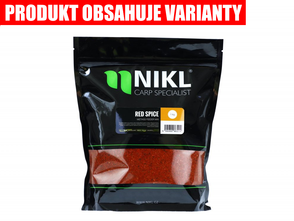 NIKL Method feeder mix - Red Spice