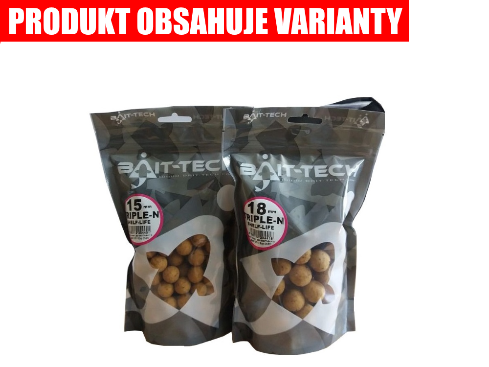 BAIT-TECH Boiles Triple-N Boilies Handy Pack (300g)