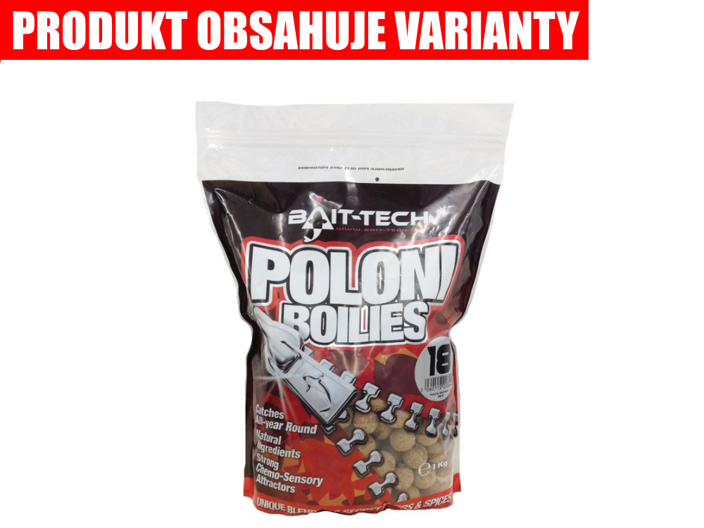 BAIT-TECH Boilies Poloni Shelf-Life