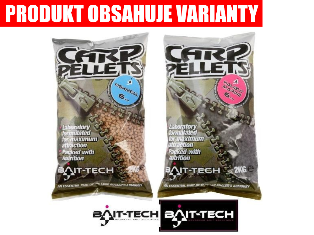 BAIT-TECH Pelety Fishmeal Carp Feed Pellets (2kg)