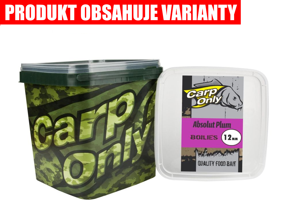 CARP ONLY Absolut Plum Boilie (3kg)
