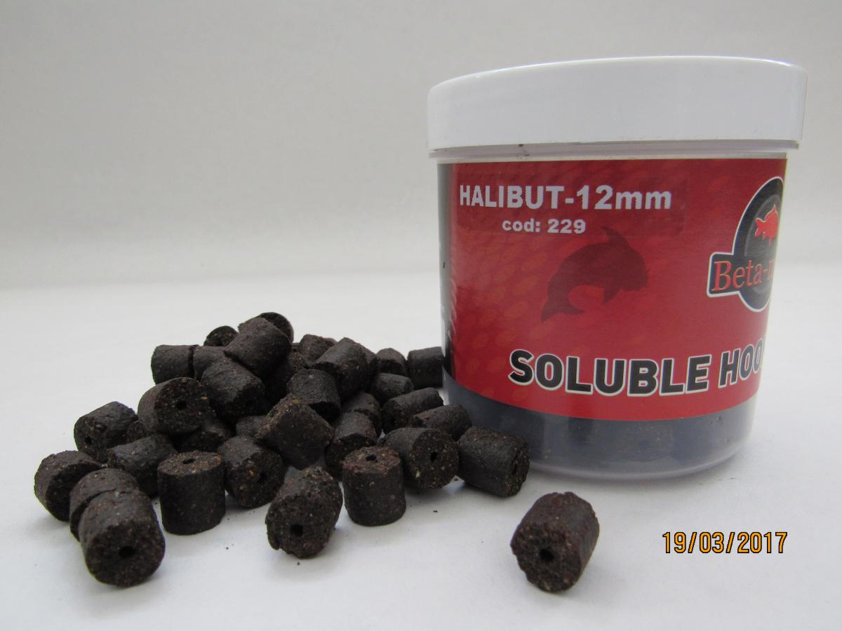 BETA MIX Chytacie pelety 12mm, 300 ml - Halibut
