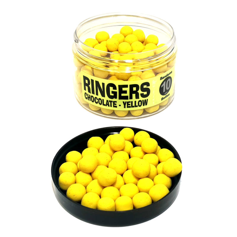 RINGERS Wafter 10mm - CHOCOLATE/YELLOW
