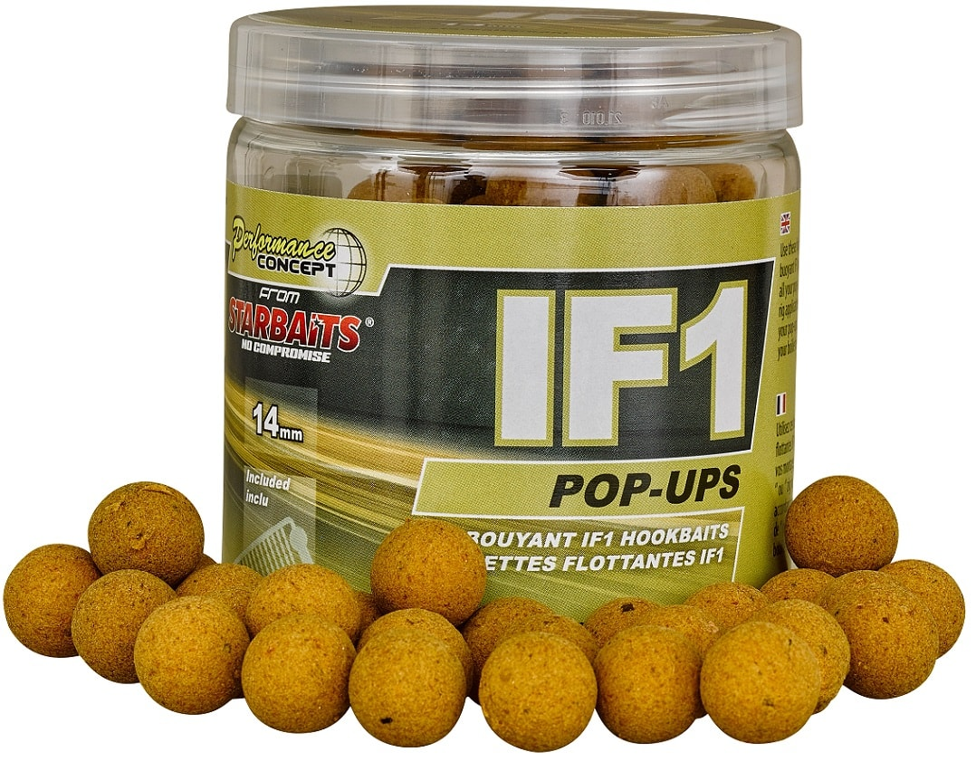 STARBAITS Boilie Pop Ups IF1 60g - 14mm