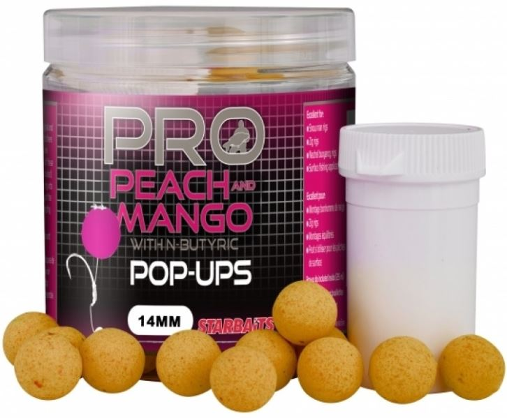 STARBAITS Boilie Pop Ups Peach Mango 60g - 14mm