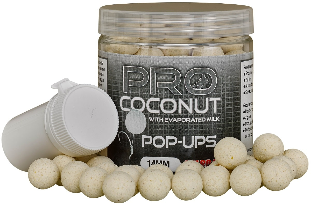 STARBAITS Boilie Pop Ups Coconut 60g - 14mm