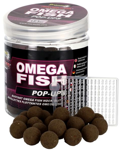 STARBAITS Boilie Pop Ups Omega Fish 80g - 14mm