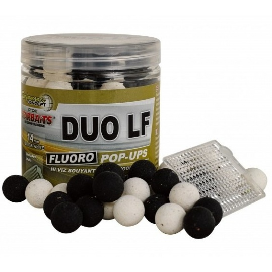 STARBAITS Boilie Pop Ups Fluo Duo LF 80g - 14mm