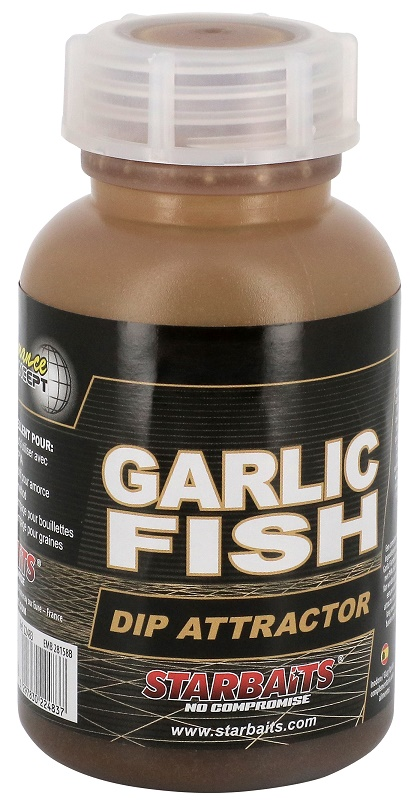 STARBAITS Dip Garlic Fish 200ml