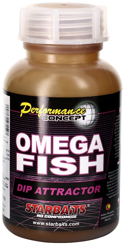 STARBAITS Dip Omega Fish 200ml