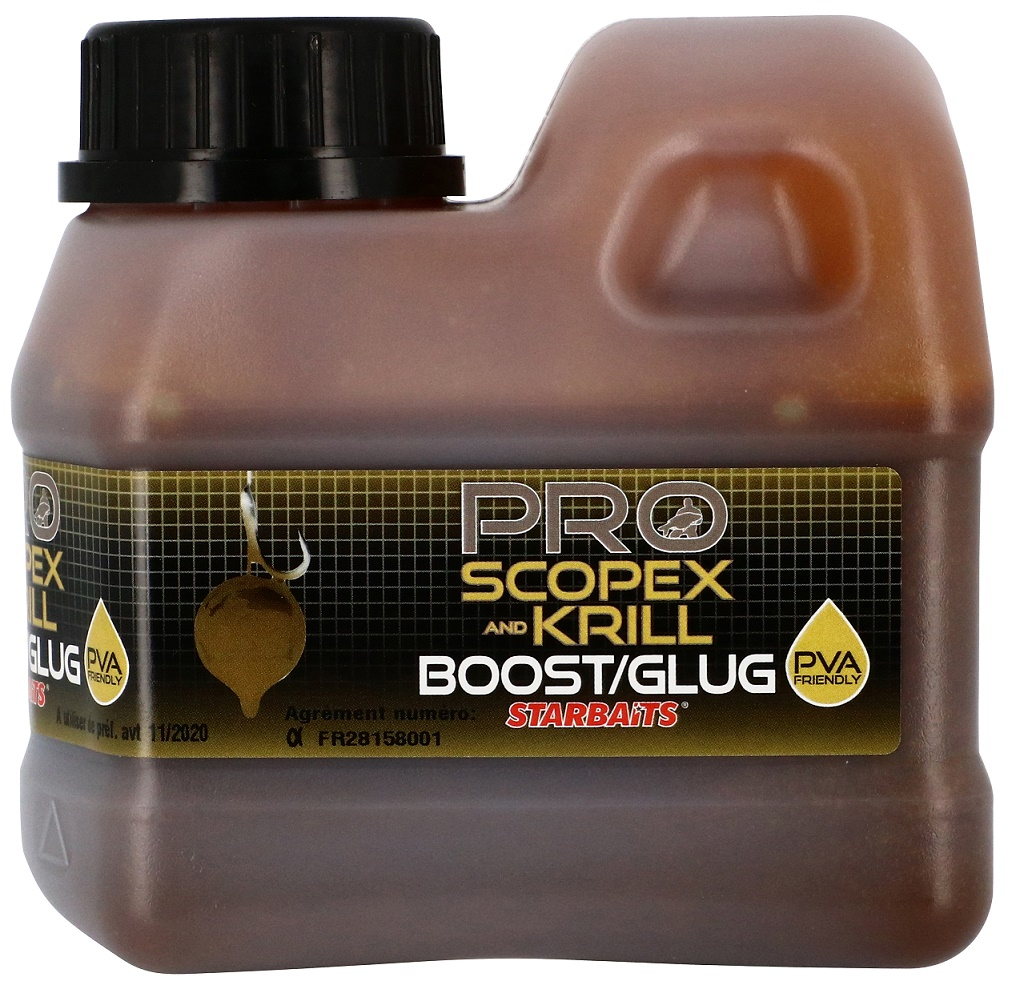 STARBAITS Booster Scopex & Krill 500ml