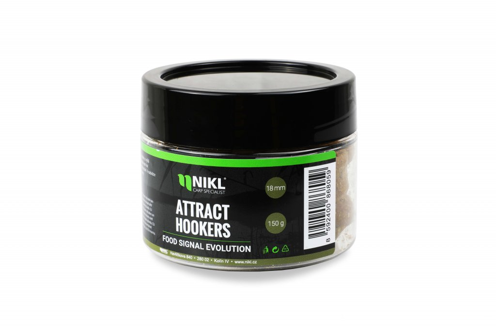 NIKL Attract Hookers Food signal - 14mm, 150g