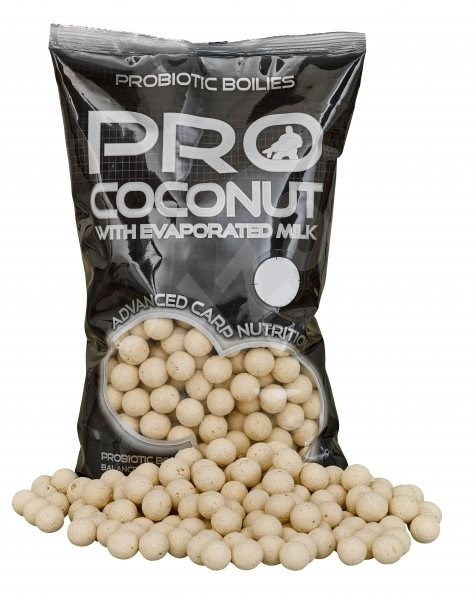 STARBAITS Boilie Probiotic Coconut, 2.5kg - 20mm