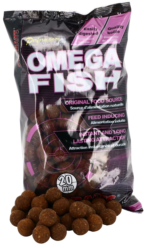 STARBAITS Boilie Omega Fish, 1kg - 20mm
