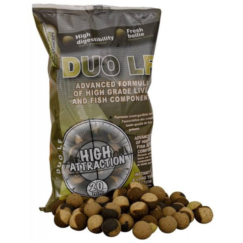STARBAITS Boilie Duo LF, 1kg - 14mm