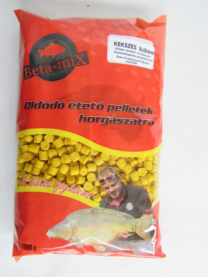 BETA MIX Pelety 8 mm, 1 kg - Keks