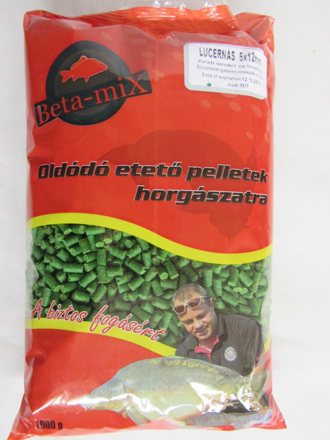 BETA MIX Pelety 8 mm, 1 kg - Amur