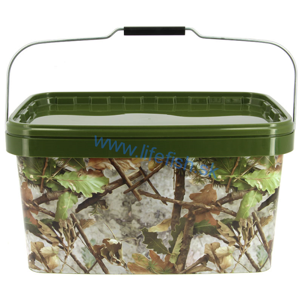 NGT Square Camo Bucket 12,5L