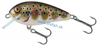 SALMO Wobler BUTCHER  SINKING Holo Brown Trout 5cm (potápavý)