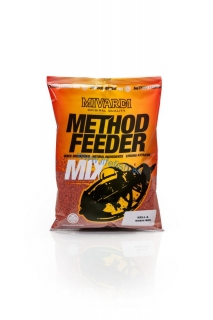 MIVARDI Method feeder mix - KRILL & ROBIN RED (1ks)