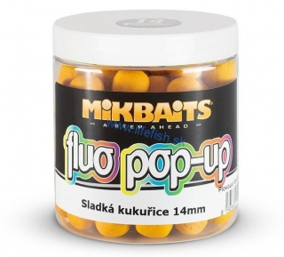 MIKBAITS Fluo pop-up - Sladká Kukurica 14mm (250ml)
