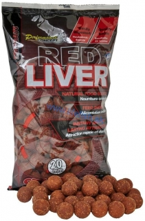 STARBAITS Boilie RED LIVER 20mm (1kg)